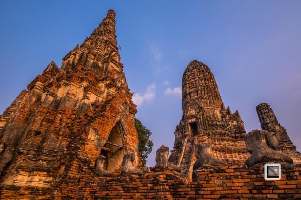Ayutthaya - Wat Chai Watthanaram-13