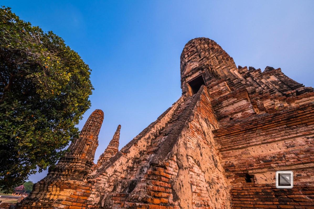Ayutthaya - Wat Chai Watthanaram-22