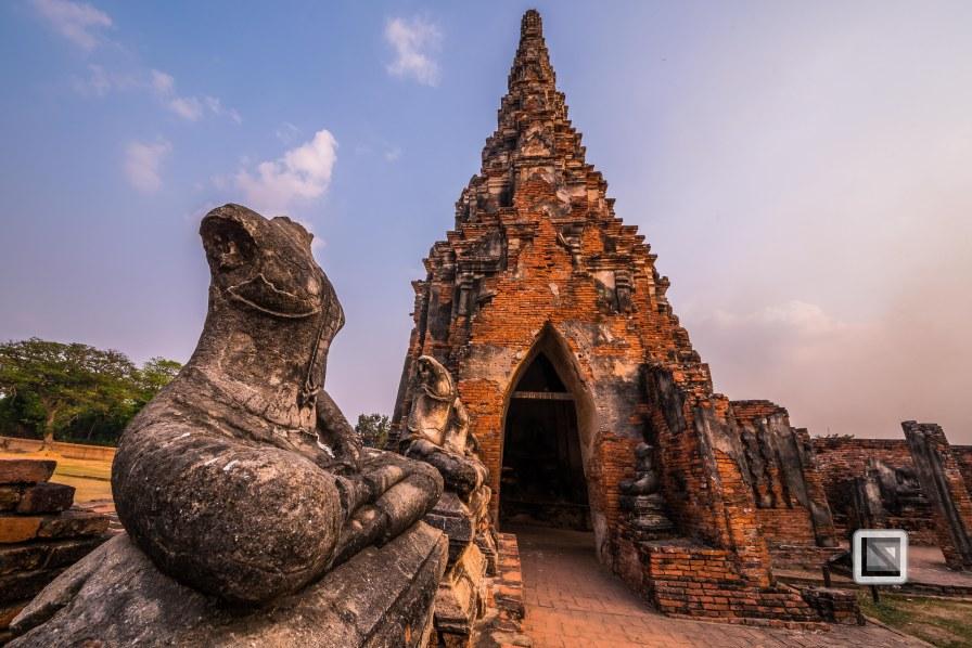 Ayutthaya - Wat Chai Watthanaram-9