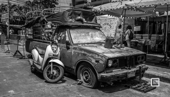 Bangkok Black and White