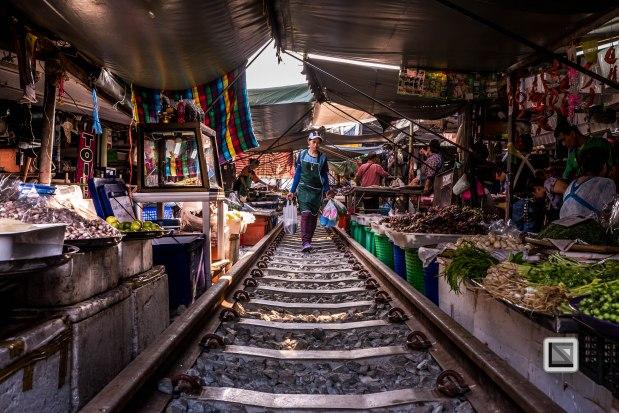 Maeklong Train Market Color-10