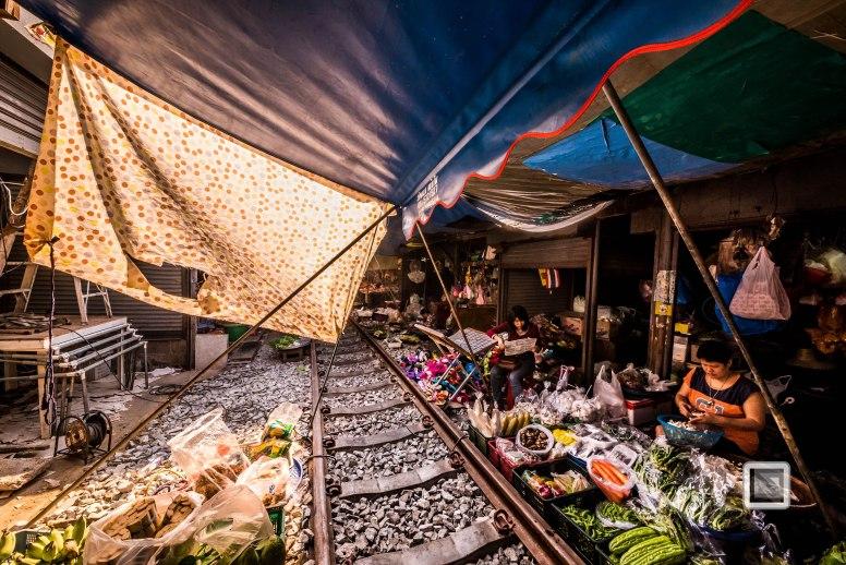 Maeklong Train Market Color-16
