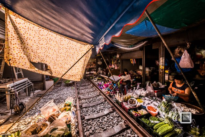 Maeklong Train Market Color-17