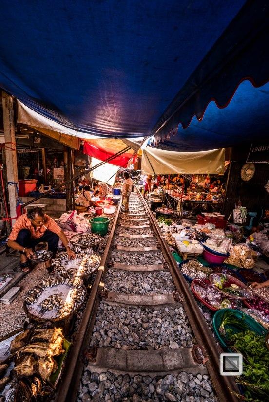 Maeklong Train Market Color-18