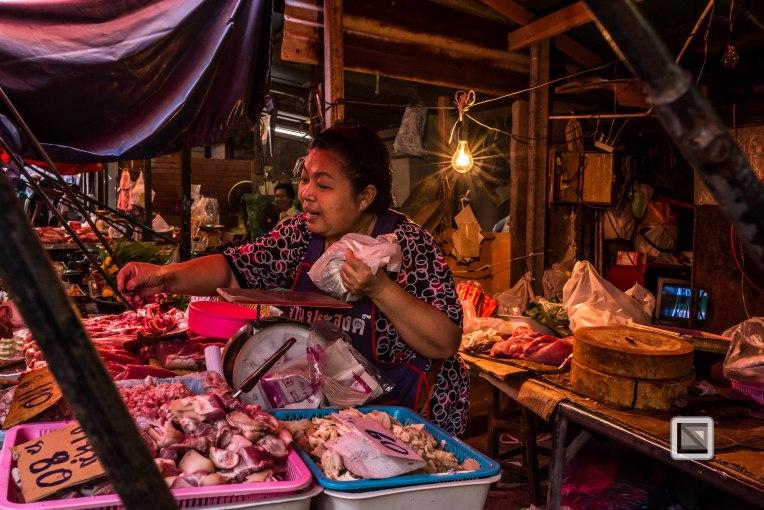 Maeklong Train Market Color-5