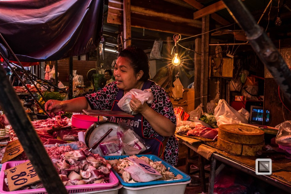 Maeklong Train Market Color-5