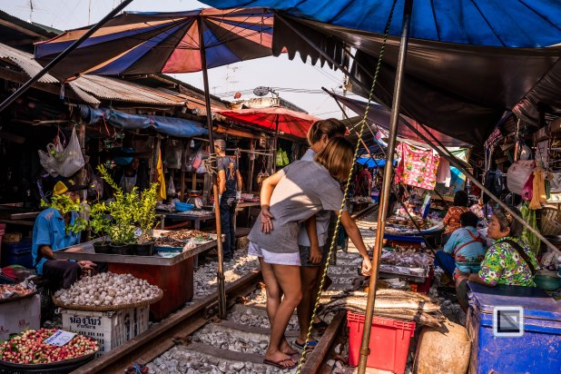 Maeklong Train Market Color-9
