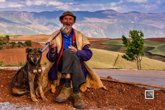 faces of asia -Dongchuan Red Land-42