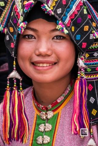 faces of asia -Luang Prabang Pi Mai-66