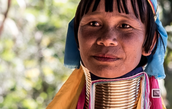 faces of asia -Padaung color portraits-4