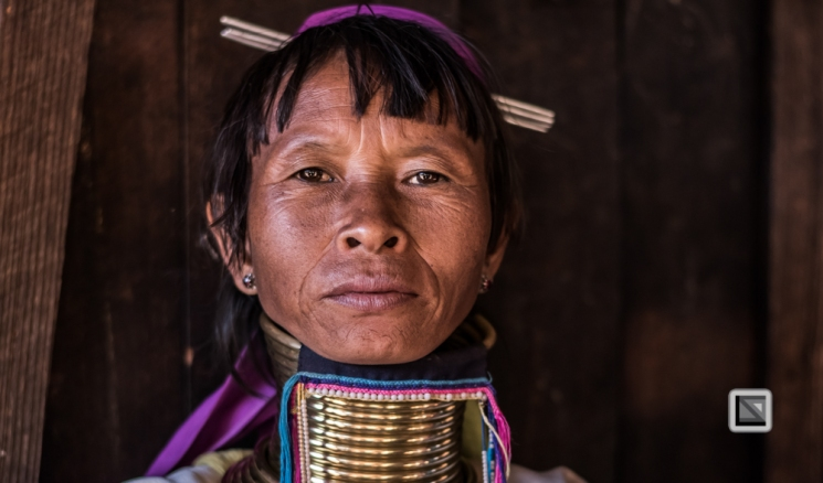 faces of asia -Padaung color portraits-61