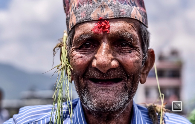 faces of asia -Pokhara paddy planting festival-4
