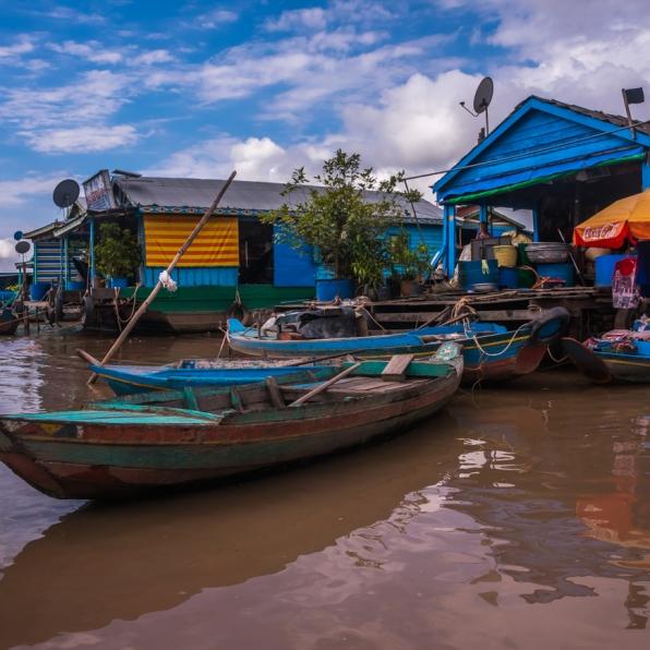 Tonle Sap - Kompong Luong-99