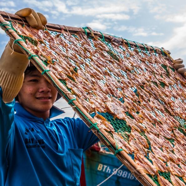 Phan Thiet Fish Market - Vietnam-15