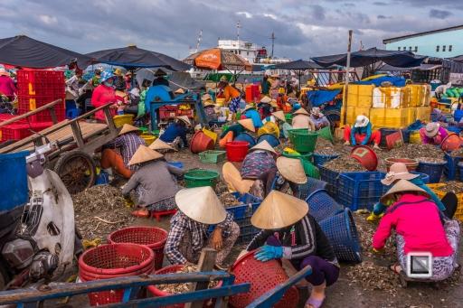 Phan Thiet Fish Market - Vietnam-35