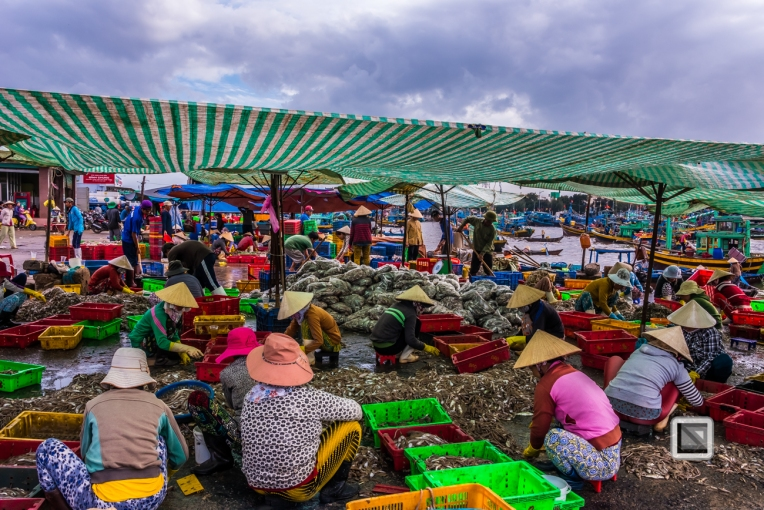 Phan Thiet Fish Market - Vietnam-38
