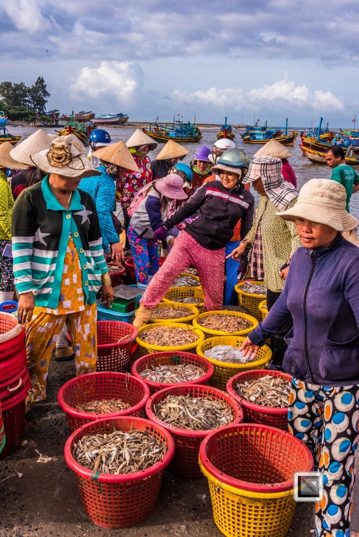 Phan Thiet Fish Market - Vietnam-42