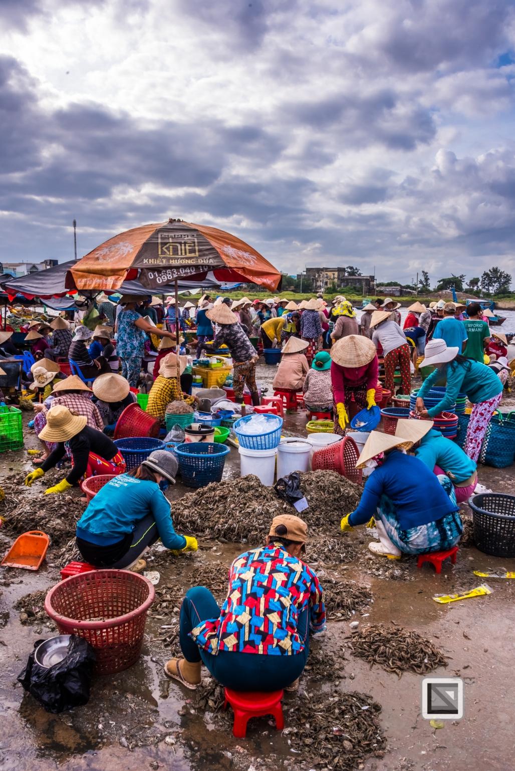 Phan Thiet Fish Market - Vietnam-45
