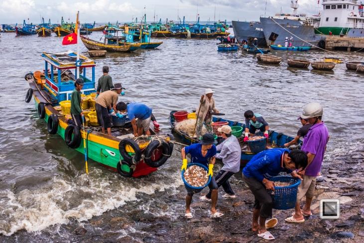 Phan Thiet Fish Market - Vietnam-54