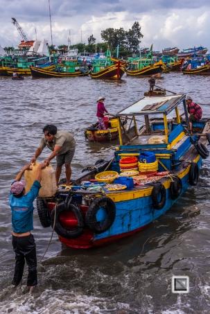Phan Thiet Fish Market - Vietnam-55