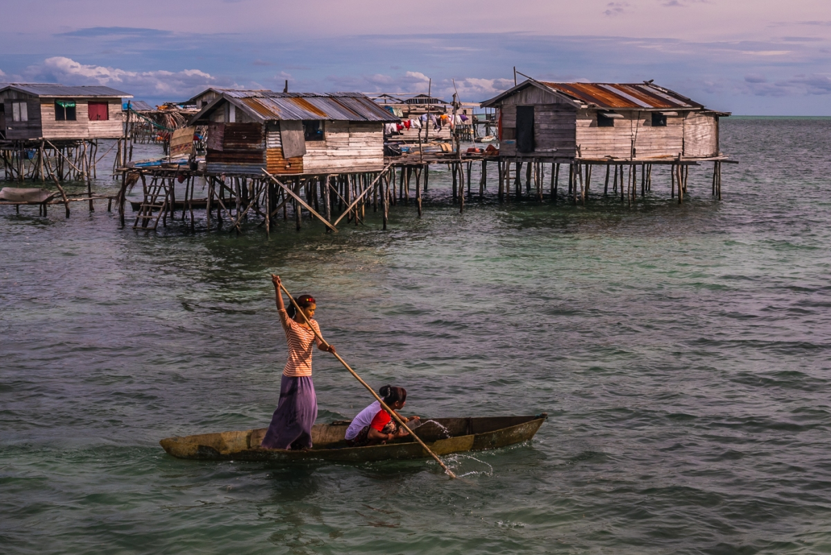 """The Forgotten"" A glimpse of Borneo's Seafari People - The Bajau"