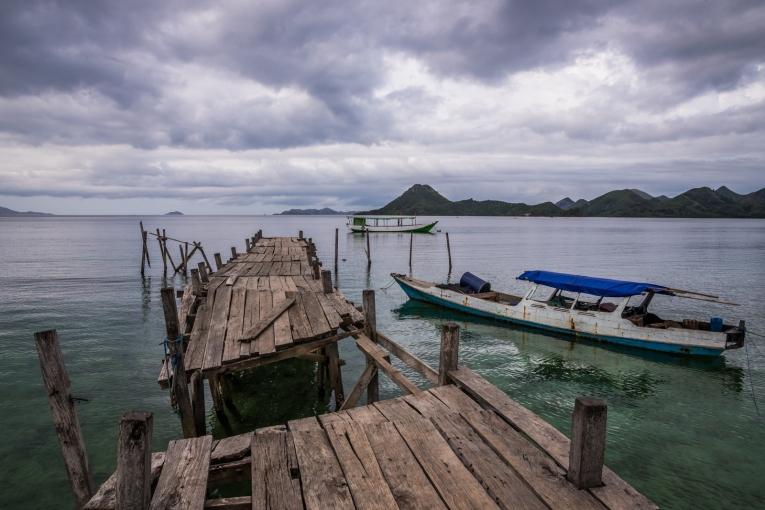 Indonesia-Flores-Komodo_Nationalpark-Rinca_Village-77