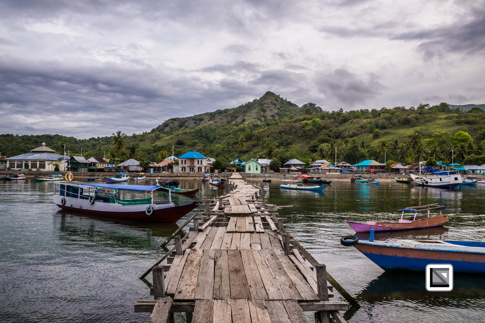 Indonesia-Flores-Komodo_Nationalpark-Rinca_Village-78