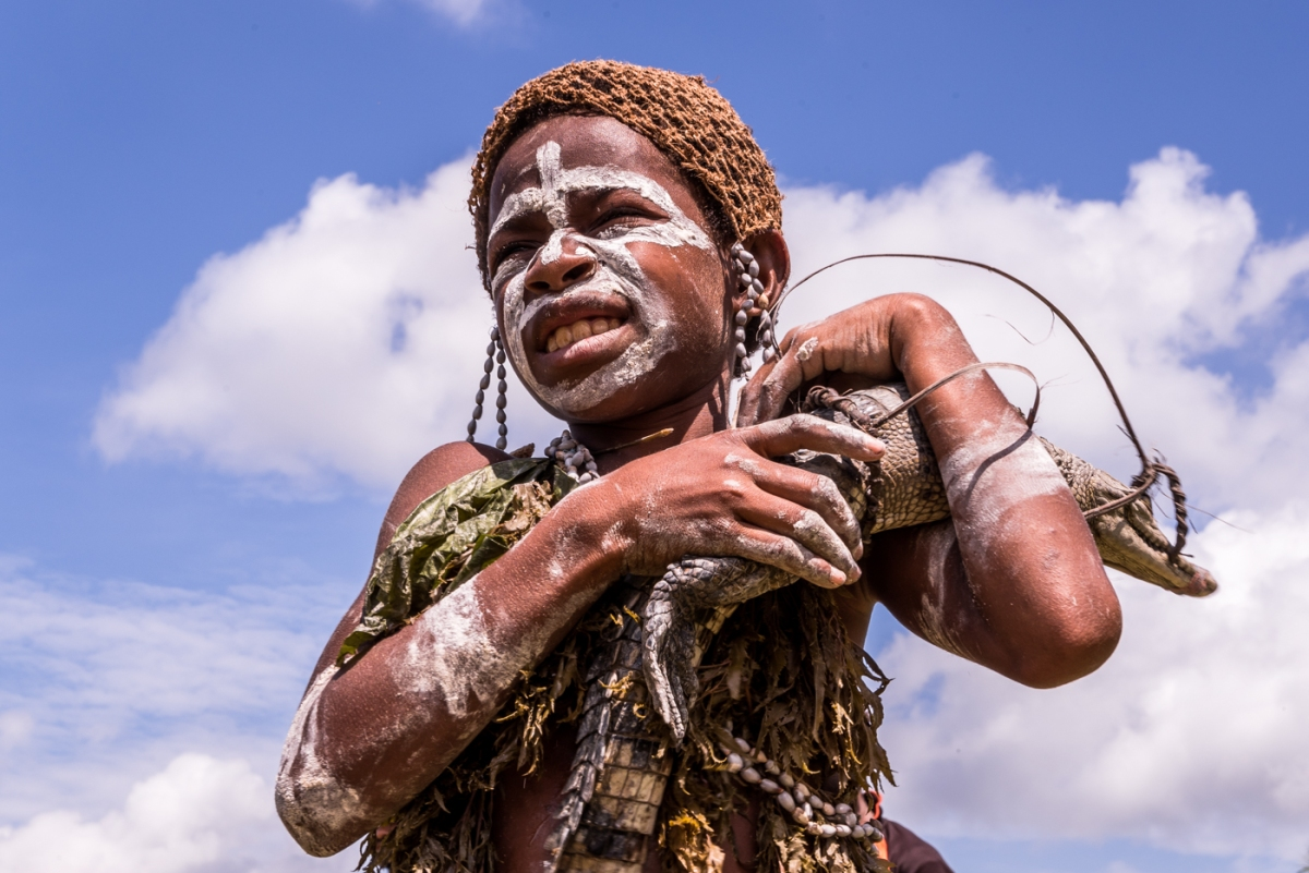 Papua New Guinea - Sepik Region - Crocodile Festival